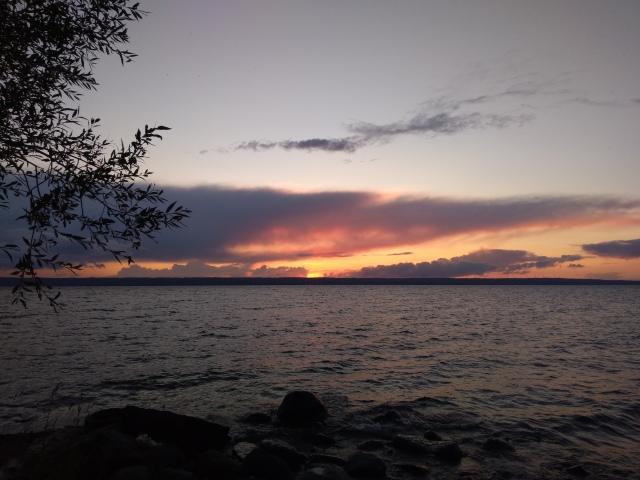Solnedgång Visingsö