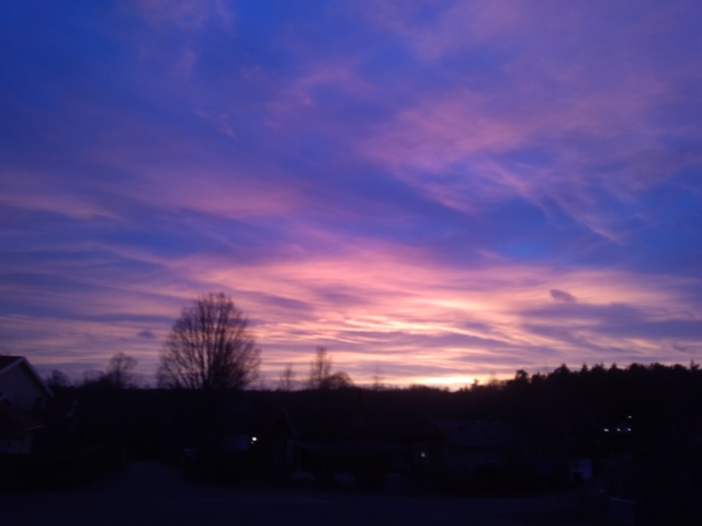 Solnedgång 1.1 2020